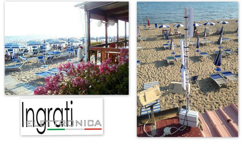 """Realizzazione copertura Wireless """"Bagno La Vela"""""""